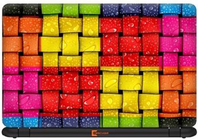 Urban Monk Color Blaze Vinyl Laptop Decal