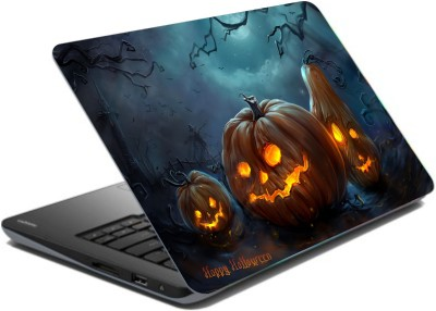CrazyLiner Happy Halloween Vinyl Laptop Decal