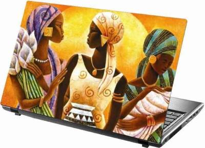 virtual prints painting image girls digitally printed vinyl Laptop Decal 15