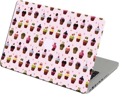 Theskinmantra Cupcakes Laptop Skin For Apple Macbook Air 13 Inches Vinyl Laptop Decal 13