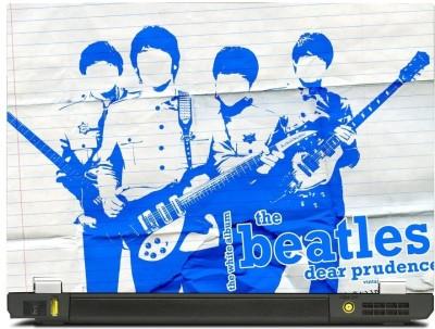 Skincentral Skinkart Blue Beatles Paper Graphic Vinyl Laptop Decal 17