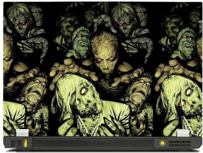 Skinkart Zombie Laptop Skin Type 43 (Screen Size 10.1 inch) Premium quality Imported Vinyl Laptop Decal 10.1