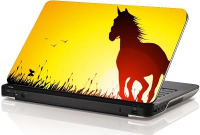 Swati Graphics Sgls072 Horse Vinyl Laptop Decal 15.6