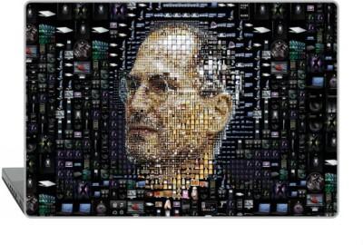 Digitek World Skin of Steve Jobs High Quality 3M Vinyl Laptop Decal 15.6