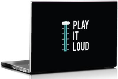 Seven Rays Play it Loud Vinyl Laptop Decal 15.6