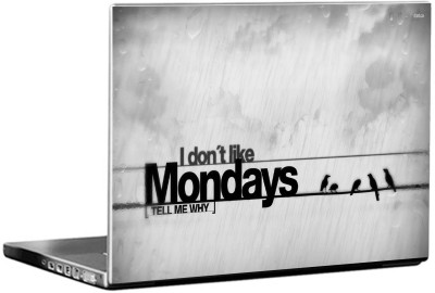 Moneysaver Hate Mondays Quote 3M Vinyl Laptop Decal 15.6