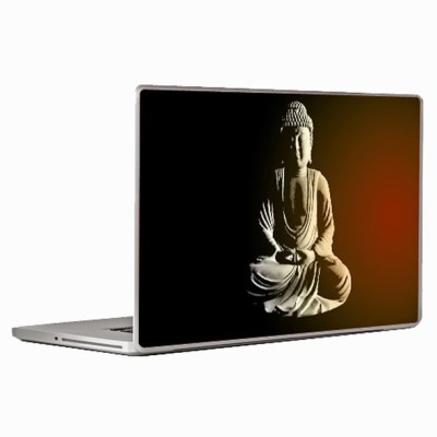 Theskinmantra Buddha Peace Laptop Decal 13.3