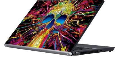 Eclipse The Psychedelic Graphics Vinyl Laptop Decal 15.6