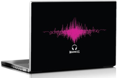 Seven Rays Music Madness Vinyl Laptop Decal