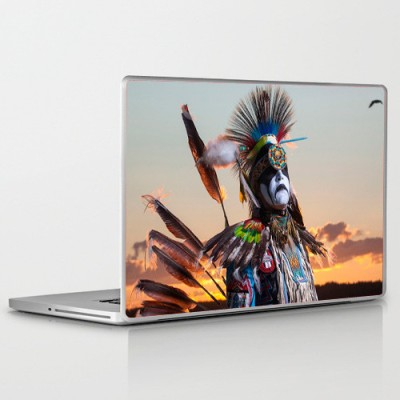 Theskinmantra Vibrant Indian PolyCot Vinyl Laptop Decal
