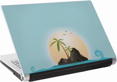 142Skin Beach Clipart Sun Vinyl Laptop Decal 15.6