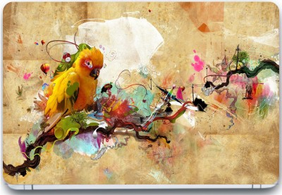 Trendsmate Colorful Parrot 3M Vinyl and Lamination Laptop Decal 15.6