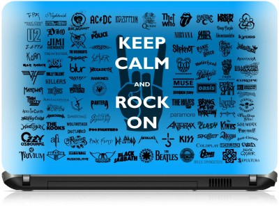 NG Stunners Keep Calm & Rock On Synthetic Laptop Decal