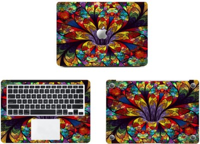 Swagsutra Glass Like Colours Vinyl Laptop Decal