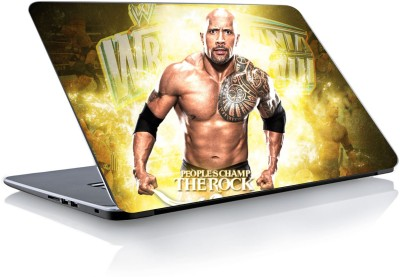 Devendra Graphics Wwe The Rock Vinyl Laptop Decal 15.6
