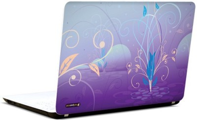 Pics And You Intricate Pattern Purple 3 Vinyl Laptop Decal 15.6