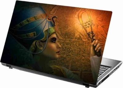 virtual prints A beautifull girl with lighting digitally printed vinyl Laptop Decal 15
