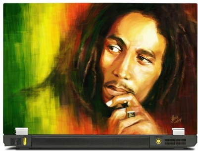 Skincentral Skinkart Bob Marley 3 Vinyl Laptop Decal