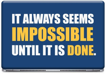 Posterboy Impossible Vinyl Laptop Decal 14.1
