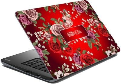 meSleep Floral for Brinda Vinyl Laptop Decal 15.6