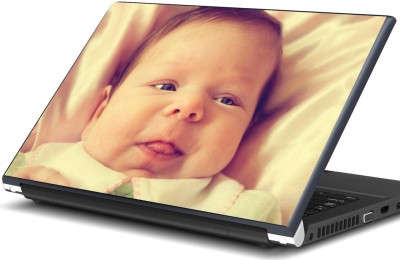 Artifa Baby sticking tongue out Vinyl Laptop Decal 15.6