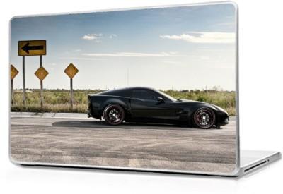 Global Chevrolet corvette Vinyl Laptop Decal