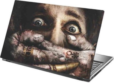 virtual prints stare image digitally printed Laptop Decal 15
