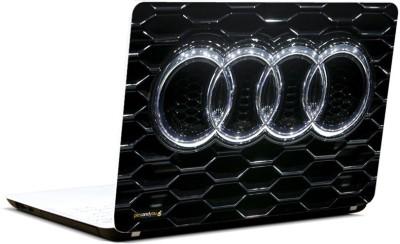 Pics And You Audi Car Logo 3M/Avery Vinyl Laptop Decal 15.6