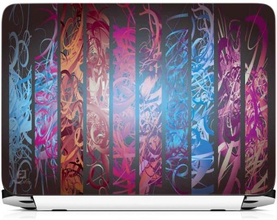 FineArts Multicolour Pattern Vinyl Laptop Decal 15.6