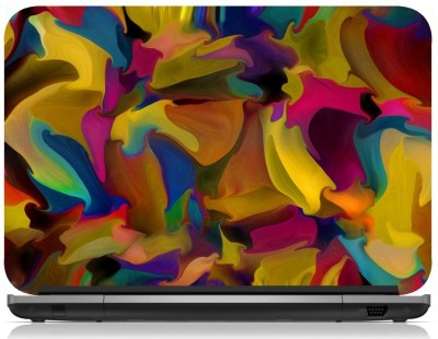 NG Stunners Colourful Splashes Vinyl Laptop Decal 15.6