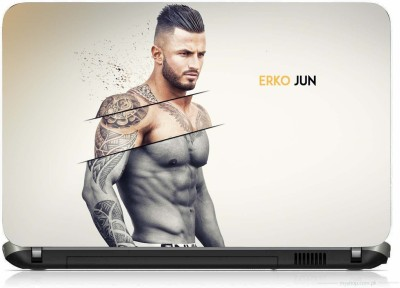 VI COLLECTIONS BODY BUILDER PRINTED VINYL Laptop Decal 15.6
