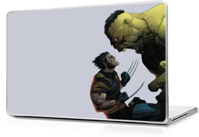 Global Hulk vs Wolverine Vinyl Laptop Decal 17