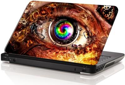 Swati Graphics Sgls015 Dangerous Eyes Vinyl Laptop Decal 15.6