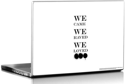 Bravado Swedish House Mafia We Raved We Loved Vinyl Laptop Decal 15.6