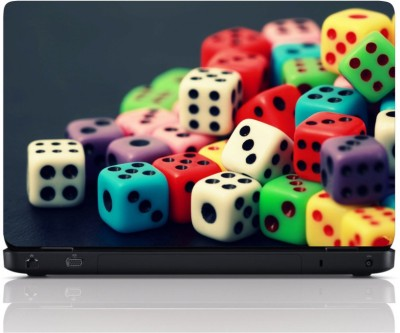MGN Colourfull Dice Vinyl Laptop Decal 15.6