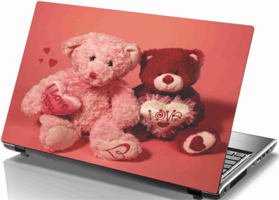 Sab Kuch Print Love Taddy 55 Polyester Laptop Decal 14.1