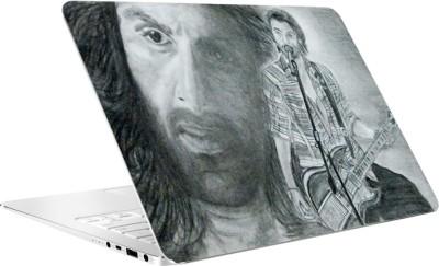 AV Styles Sketch Of Ranbir Kapoor By Av Styles Vinyl Laptop Decal 15.6