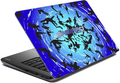 meSleep Abstract Swiral for Samiran Vinyl Laptop Decal 15.6