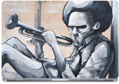 Posterboy Trumpet Vinyl Laptop Decal