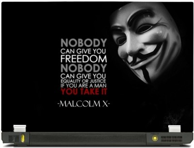 Skincentral Skinkart Link To Hacker Quote Vinyl Laptop Decal 15.6