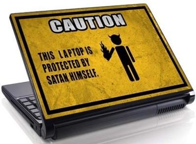 Theskinmantra Satan Secure Vinyl Laptop Decal 15.6