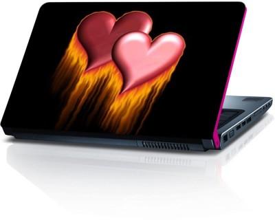 Shopmillions Heart LS2259 Vinyl Laptop Decal 15.6