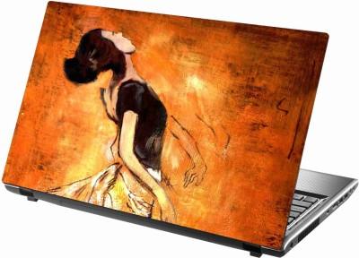 Sab Kuch Print cute girls 343 Polyester Laptop Decal 14.1