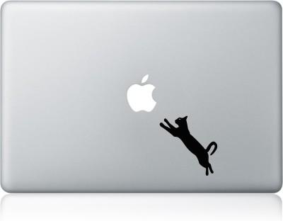 Clublaptop Sticker Cat Jumping 13 inch Vinyl Laptop Decal 13