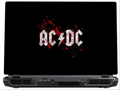 SkinShack AC/DC Blood Logo (13.3 inch) Vinyl Laptop Decal 13.3