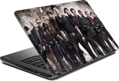 Posterhunt SVPNCA21872 The Expendables All Stars Action Laptop Skin Vinyl Laptop Decal