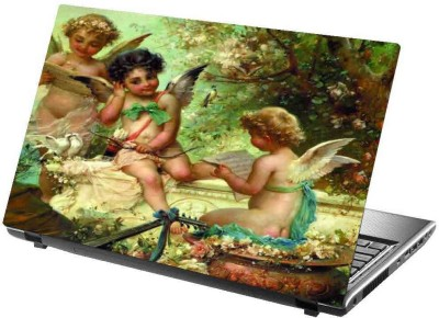 virtual prints pricess image digitally printed Laptop Decal 15