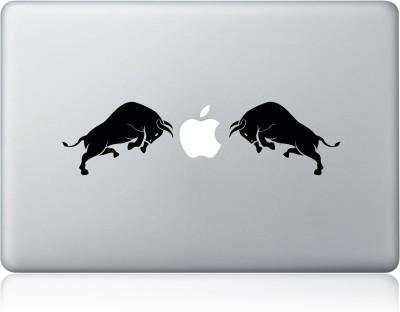 Clublaptop Sticker Bulls Fighting 15 inch Vinyl Laptop Decal 15