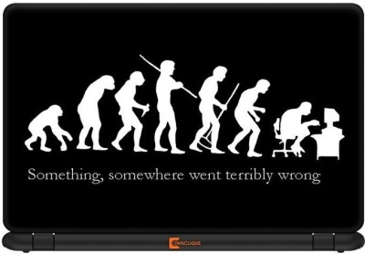 Ownclique Real Evolution Vinyl Laptop Decal