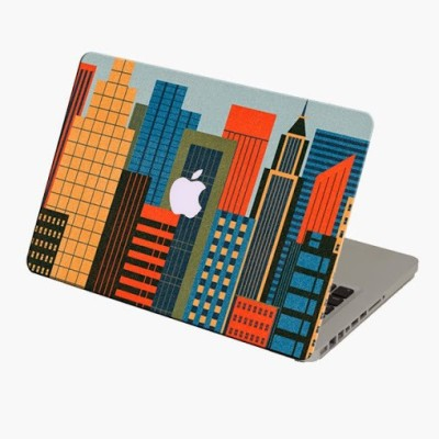 Theskinmantra Vertical Magic Macbook 3m Bubble Free Vinyl Laptop Decal 13.3